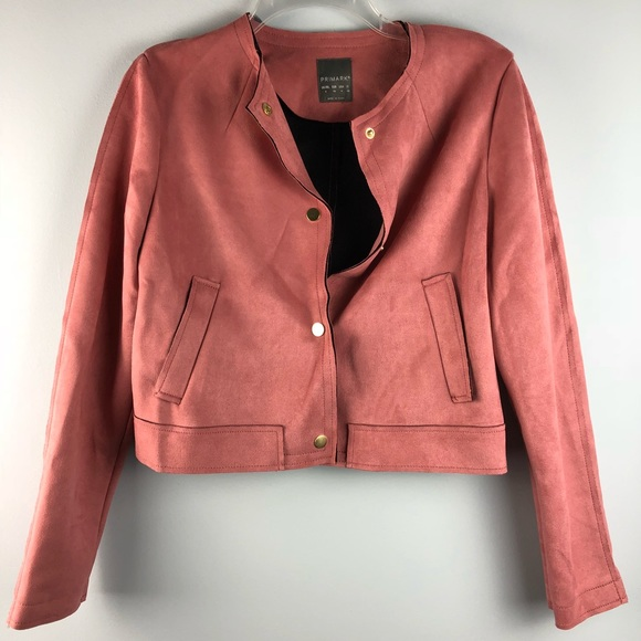 1db9a4ebed Primark Jackets & Coats | Soft Pink Faux Suede Jacket | Poshmark